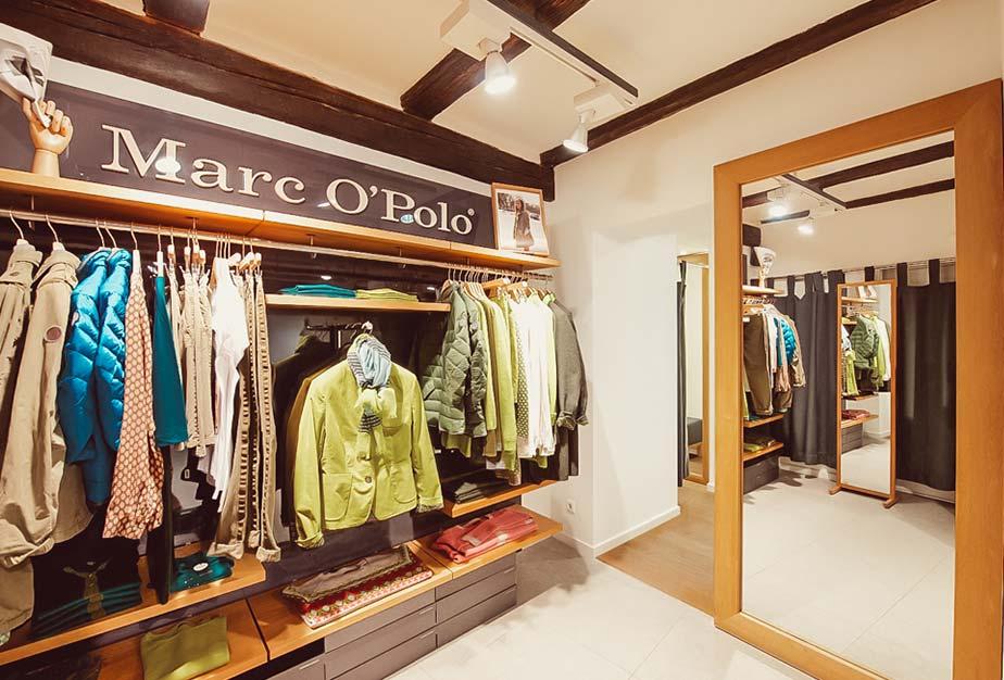 Marc O'Polo im Keller-Warth-Store in Biberach