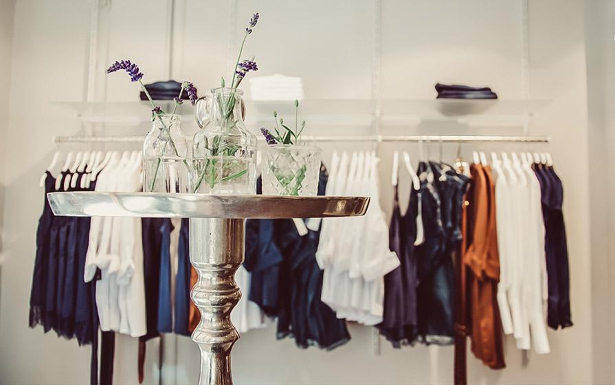 Dekoration im Warth Woman Store in Ravensburg