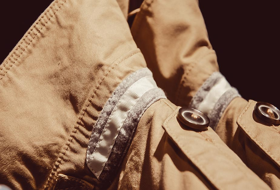 Beige Jeansjacke von Marc O'Polo