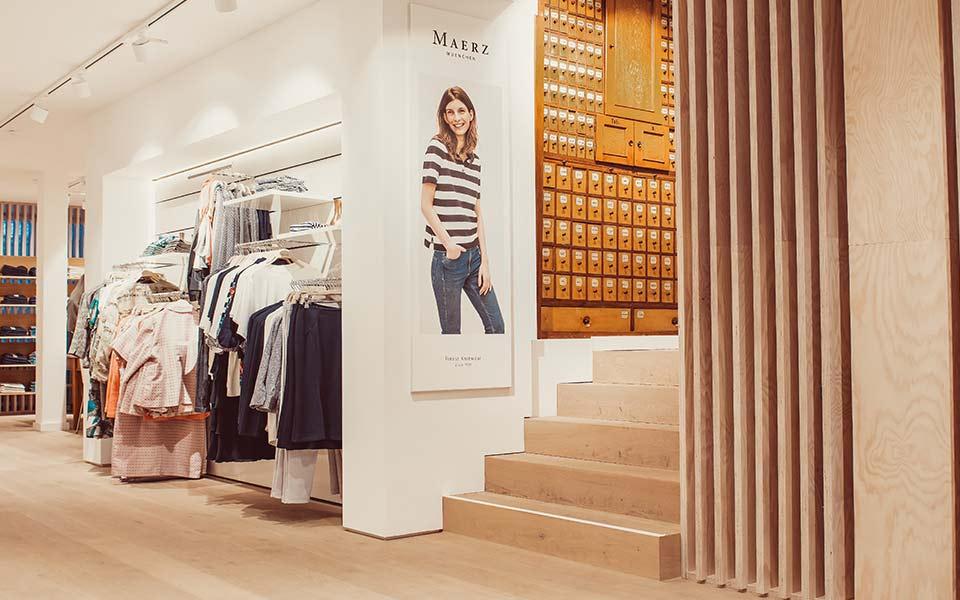 Bild vom Innenbereich des Keller-Warth-Classic-Store in Biberach