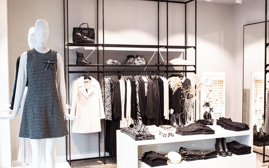 Business-Damenkleidung von Hallhuber im Keller-Warth-Store in Biberach