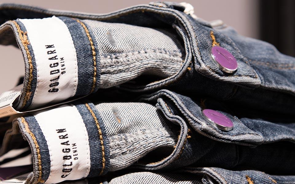 Jeans von Goldgarn im Warth Blu Store in Laupheim