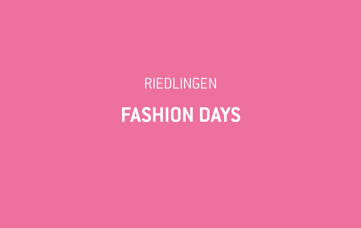 Ankündigung zu den Fashion Days in Riedlingen