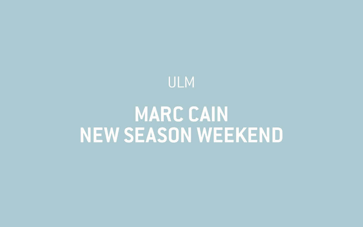 Ankündigung zu Marc Cain New Season Weekend